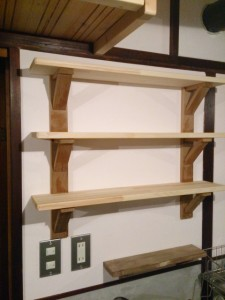 make shelf